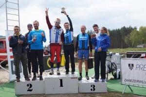 Drużyna Sogest rowery na podium